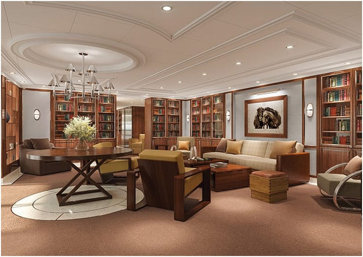 Oceania Cruises teams up with Ralph Lauren Home on board 'Vista'