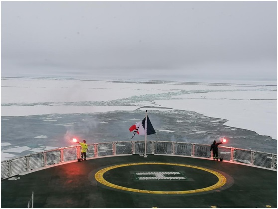 Ponant expedition ship reaches North Pole